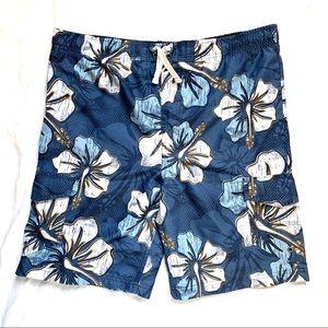 HP 2/10/21!! Sonoma Hawaiian Floral Swim Trunks